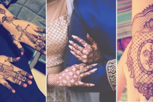 New Minimal mehndi design ideas for brides this wedding season | Modern Henna designs