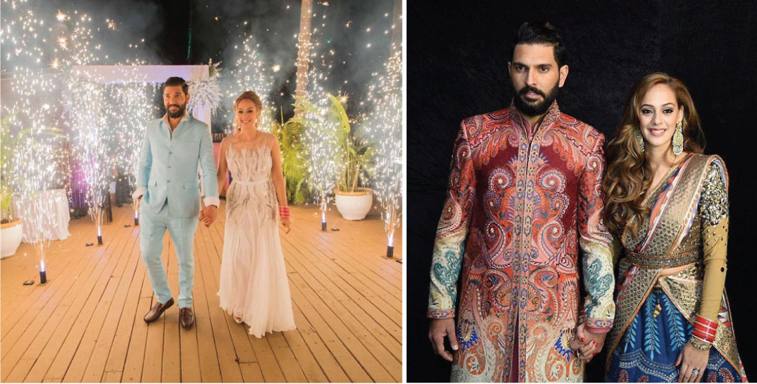 Yuvraj Singh and Hazel Keech wedding goa, Delhi and Chandigarh | Full Scoop | Curated By witty Vows