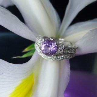 Trending New Wedding ring design ideas for indian brides on a budget   Engagement Rings   Budget Wedding Rings   Stackable Rings Ideas  Infinity Band   diamond alternative rings ideas   white Sapphire  Aquamarine   Rare Gemstone rings   Amethyst Ring with a Diamond Halo