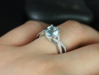 Trending New Wedding ring design ideas for indian brides on a budget | Engagement Rings | Budget Wedding Rings | Stackable Rings Ideas| Infinity Band | diamond alternative rings ideas | white Sapphire| Aquamarine | Rare Gemstone rings