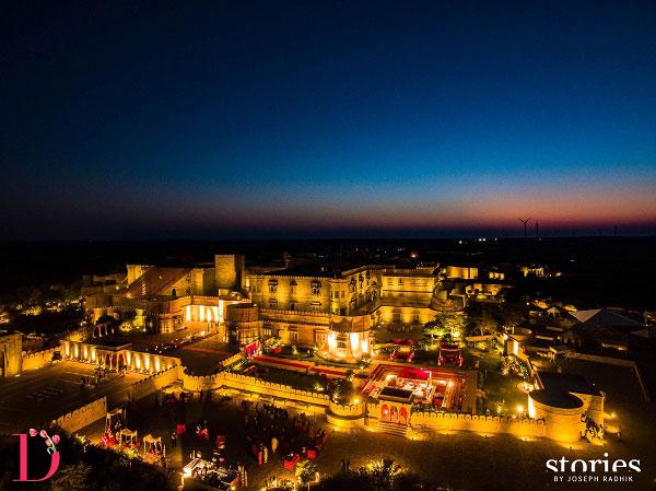 Best royal Indian wedding venue - Suryagrah hotel, Jaisalmer | wedding venues | royal wedding | destination wedding in india | Indian destination wedding | palace wedding venues | destination wedding venue | Royal Indian wedding venue | wedding at suryagarh shot by stories by joseph radhik