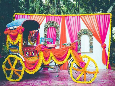 FREE Fun DIY Mehndi Theme with fab Indian Kitsch Mehndi