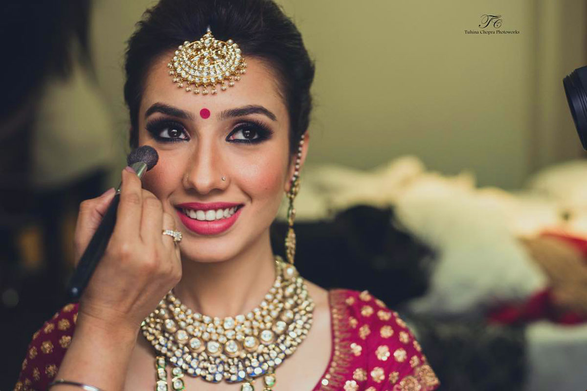Wedding Makeup and Jewelry