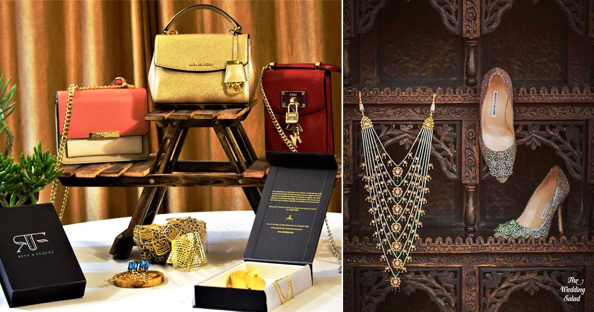 Luxury Rentals for Indian weddings | Luxury accessories | Designer bags & jewellery | rentals in india for weddings