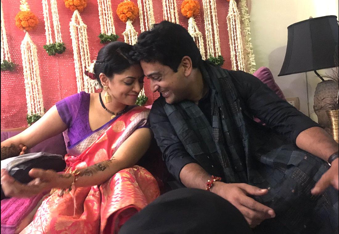 Kavita kaushik's wedding   a unique destination wedding in the hills   simple temple wedding