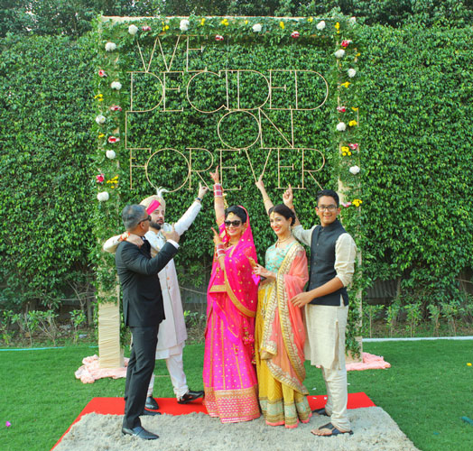 Indian Wedding Photography Ideas: We Decided On Forever Diy Photo Backdrop
