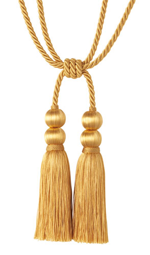 Gold Tassle for Sangeet Night | Sufi Night | Rope Tassle soft finishes