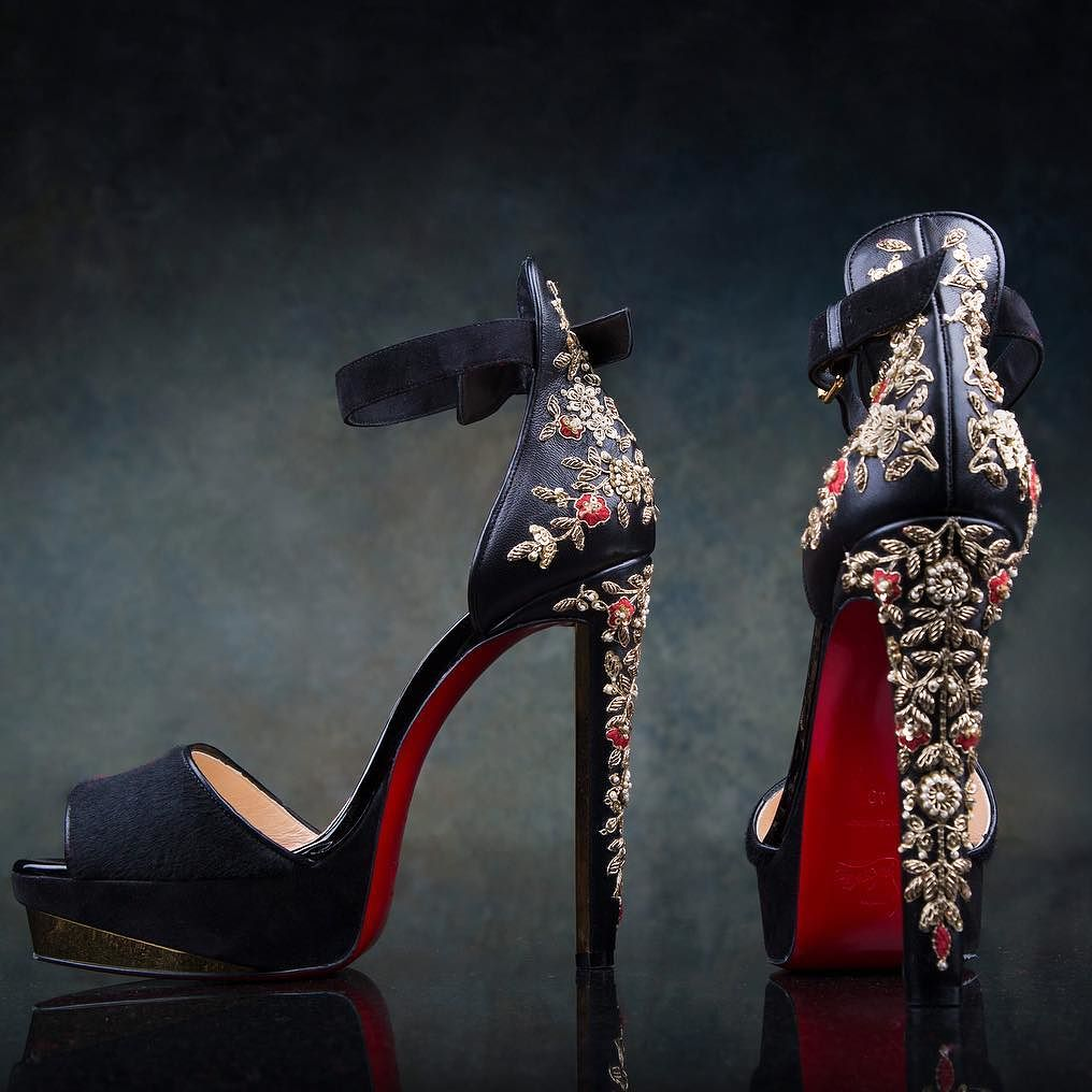 b917ad6082a Sabyasachi to Louboutins Latest designer wedding shoes for Indian Brides