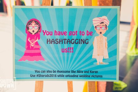 Rules to keep in mind for Indian wedding hashtags