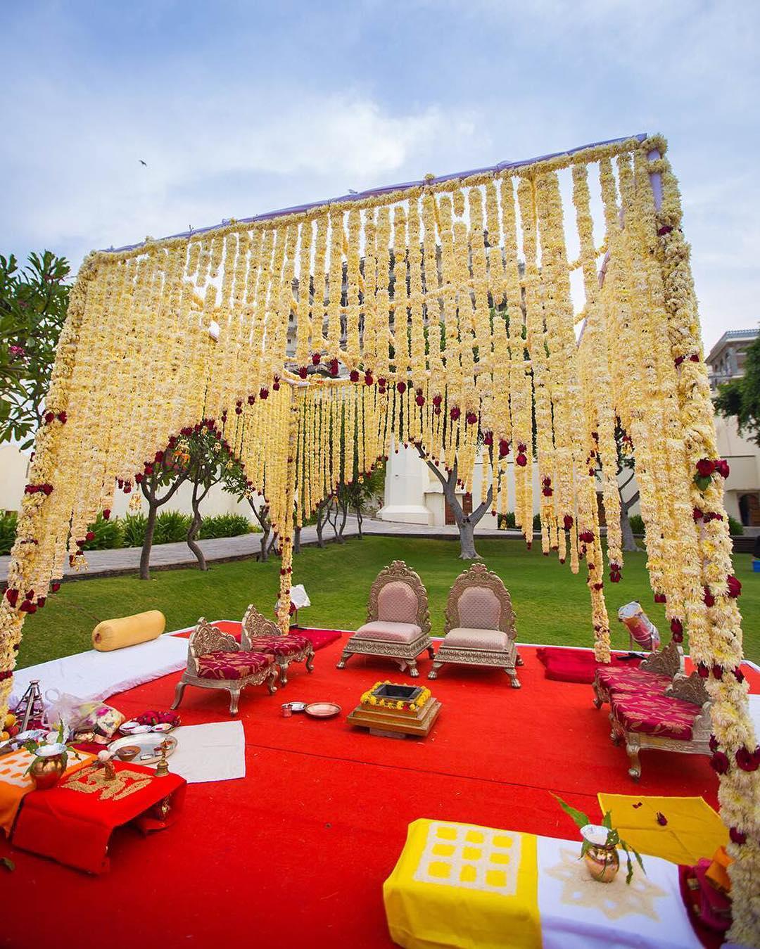 Stunning Indian Wedding Mandap Decor Ideas To Say I Do Under