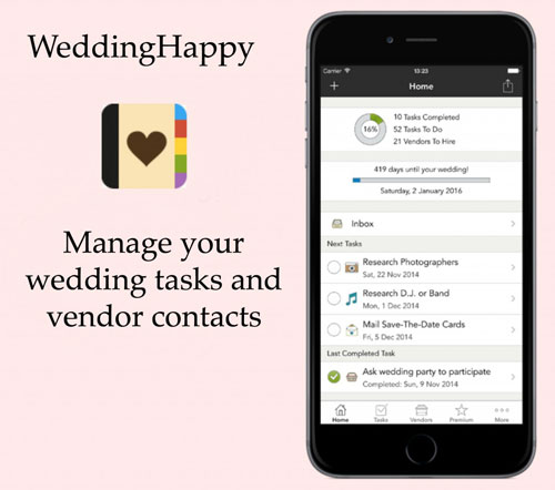 Wedding planing apps you MUST see | free apps for Indian wedding planning | Wedding Happy for your Indian wedding assistant