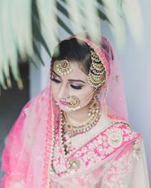 Bridal nose ring ideas | Indian Bridal Jewellery- Nath | Indian brides | naths | instagram |stunning brides | Indian wedding inspiration | by wittyvows | harlleen Deol