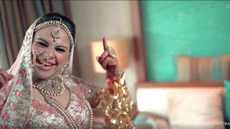 Indian bride getting ready photos | Getting ready lip dub | Indian bride lip dub cheap thrills