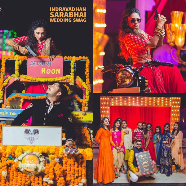 Bindaas Bride | bollywood style filmi Udaipur wedding | Sarabhai vs Sarabhai | Sarabhai season 2