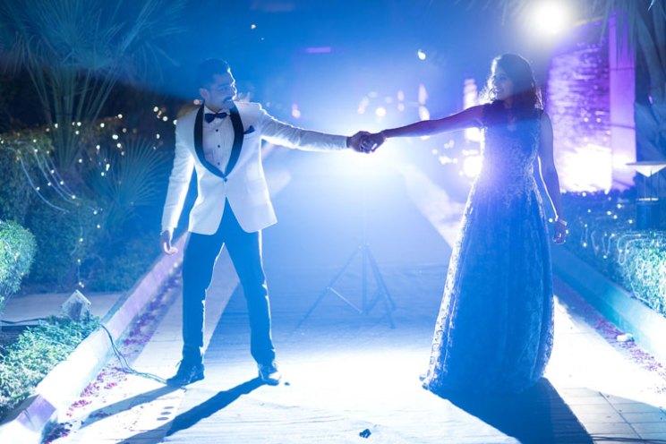 INDian couple sangeet photography