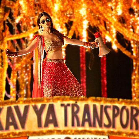 bollywood wedding goals   best friend's wedding   Indian bridesmaid duties   Humpty Sharma Kavya designer lehenga   alia Bhat on a truck