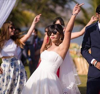 Joshua and Shona | Christian wedding | DIY ideas | The bride dancing effortlessly on her big day.