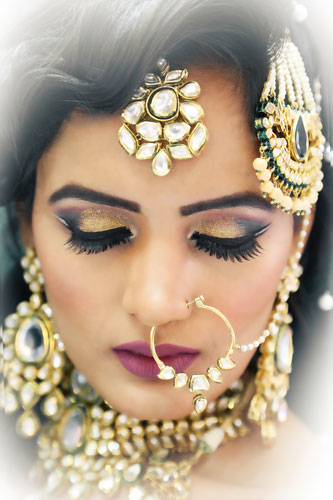 bridal makeup artist in delhi | Anubha Dawar