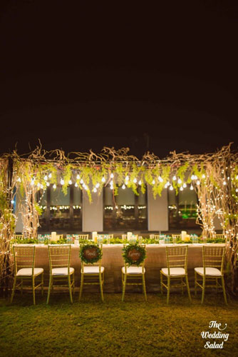 Go green decor | Trending AF in 2017 – Some of the NEW WEDDING TRENDS you need to know!
