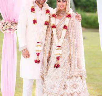 Aftab Shivdasani's Day wedding with a beach Mandap