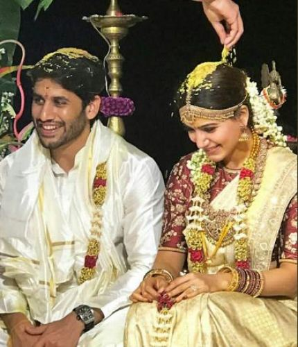 Sam in traditional saree | #CHAYSAM wedding - A Movie worthy celebration of love – that WE LOVED!