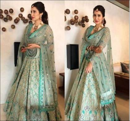 Sagarika in Anita Dongre | #CelebrityWedding – Trends to steal from Zaheer Khan & Sagarika's wedding that's unreal!
