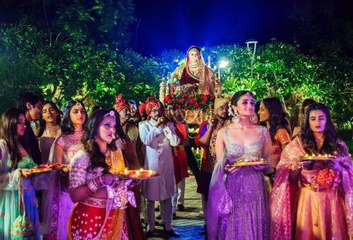 Kripa's bridal entry | #TheMehtaWedding in Jodhpur & its Bollywood Bridesmaid!