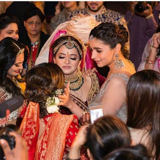 Alia at Kripa's vidaai | Glamour, Girls and Goals – Trending & how #TheMehtaWedding in Jodhpur & its Bollywood Bridesmaid!