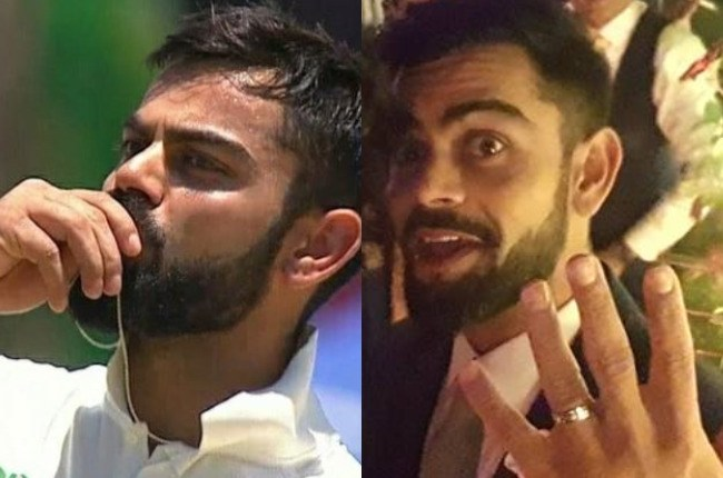 Virat flaunts his engagement ring | #2018 Wedding Trends in Making – 5 Different styles of flaunting that wedding accessory!