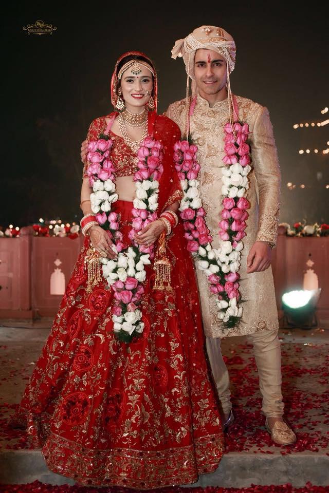 Mrs & Mr. Rode | #CelebrityWedding - Gautam &Pankhuri's FORT-ful wedding in Alwar!