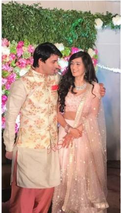 Engagement | #CelebrityWedding - Gautam &Pankhuri's FORT-ful wedding in Alwar!