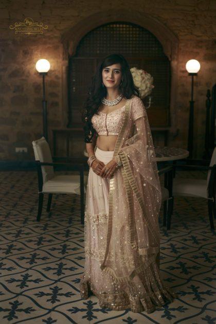 Beautiful bride Pankhuri | #CelebrityWedding - Gautam &Pankhuri's FORT-ful wedding in Alwar!