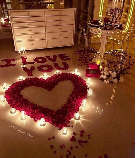 Flower decor surprise|Celebrate Love - Instaworthy Valentine Ideas for your darling