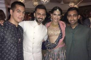 the sonam kapoor wedding