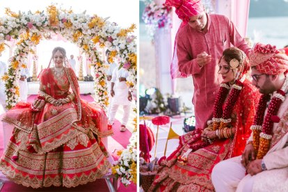 Shruti gagan Dubai wedding with lots of charm by krayonz events