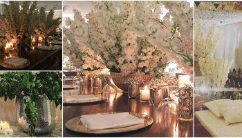White mehendi at sonam's   #Trending&How – White & Crème is the new bridal dream!