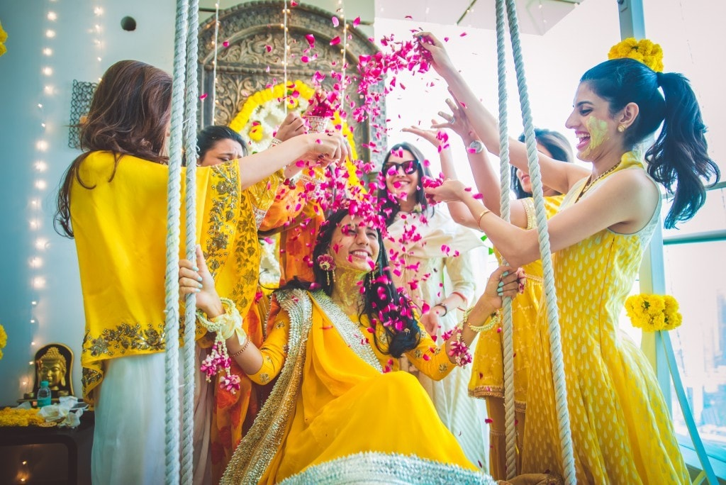 Miss Style Fiesta haldi | 5 ways to make your haldi Happy & High - Swoon & Sight