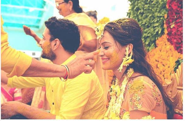 Joint haldi | 5 ways to make your haldi Happy & High - Swoon & Sight