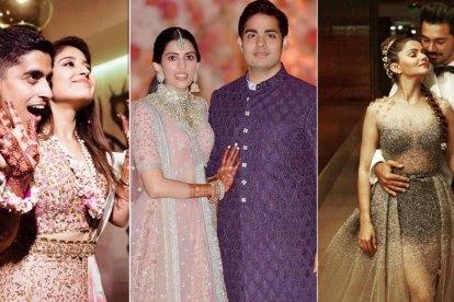 Indian Wedding Trends 2018 | Ambani engagement | Rubina wedding | shweta Tripathi wedding
