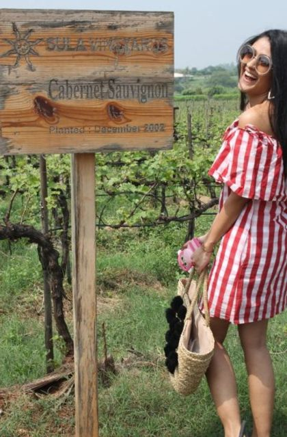 Shreya at Sula Vineyards|#FriendshipDaySpecial – Indian bachelorette ideas from celebrity bridesmaids