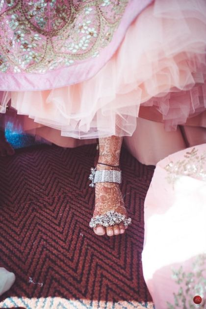 Using mom's heirloom pieces   #JustMaaruThings – Ideas to Celebrate your Teej Function in style