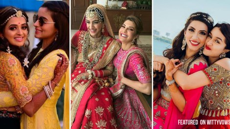 Indian wedding moments from celebrity bridesmaids