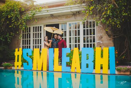 Abheshek & Smily - A Chandigarh Wedding full of fun photo | Wedding photo ideas | couple shoot pre wedding