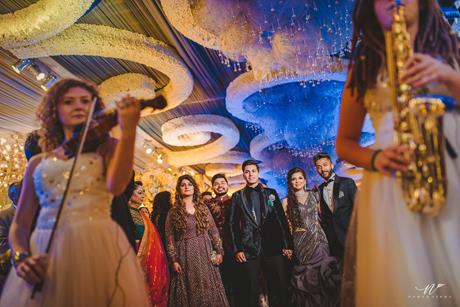 Abheshek & Smily | Chandigarh Weddings | Wedding reception | Entry ideas | Reception decor ideas | Candid pictures | Manish Malhotra | GauravGupta |