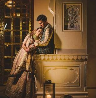 Abheshek & Smily | Chandigarh Weddings | Bride and groom | Couple photo shoot ideas | Sabyasachi Mukherjee outfits | Indian wedding Photography | Real Weddings | Indian couples |
