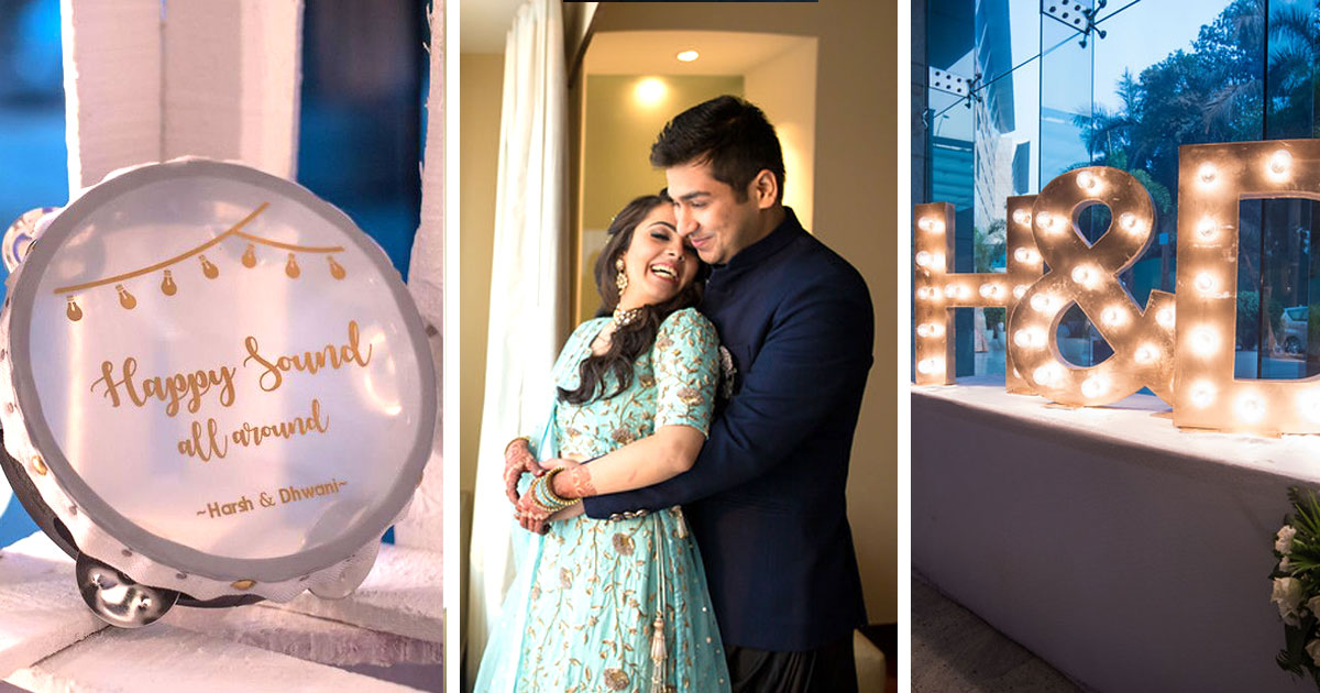 Harsh Dhwani A Story Full Of Engagement Ideas With Super Cute Personal Details Witty Vows