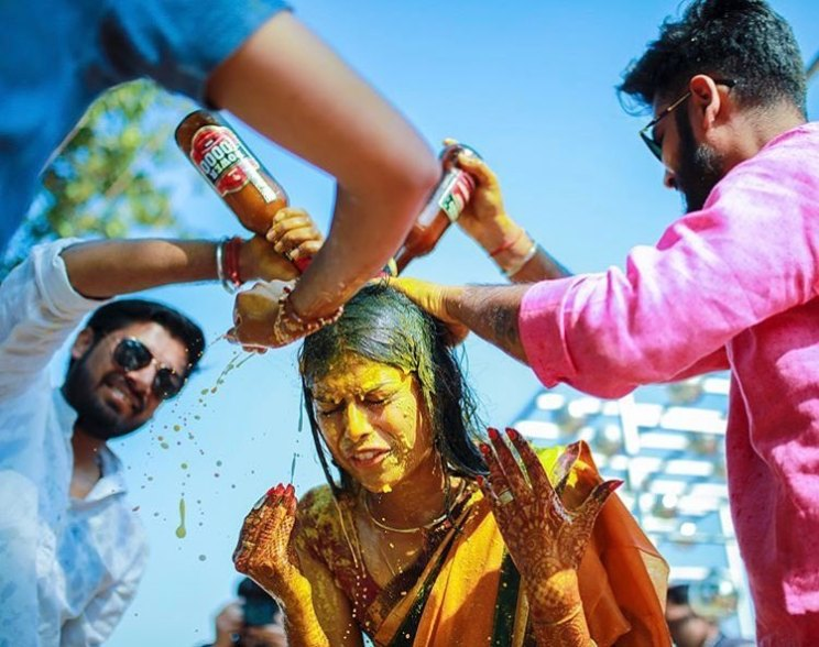 Brothers at Sister's Wedding | Cute Wedding moments | Candid pictures | Indian Wedding Photography | Brother Sister Moments | Haldi fun |