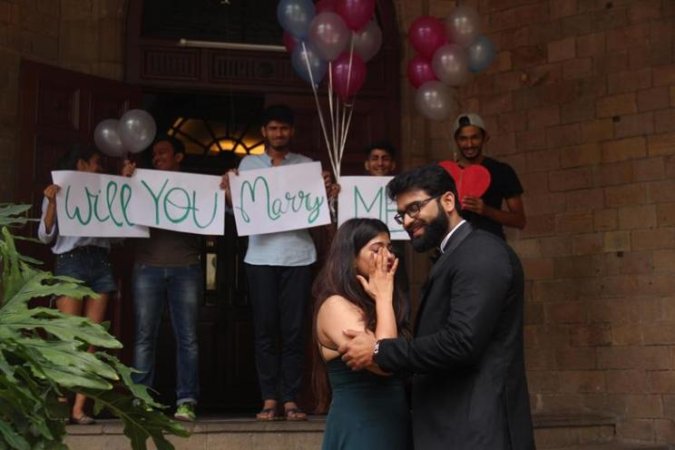 Farha and Zubair | Pre wedding photo shoot | Will you marry me? | Romantic couple shoot | DIY ideas | Balloons and Handwritten notes | Surprise proposals |