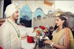 Important sister of the groom duties at an Indian wedidng | Sonam kapoor with Mohit marwah