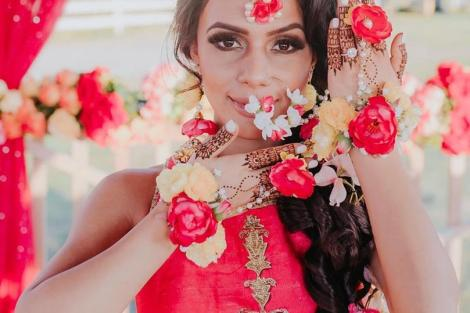 Floral nath ideas | Nose Ring | Traditional Indian jewellery | Flower jewelry | Real flowers in Nath | Mehendi jewelry ideas | Dry flower jewelry |